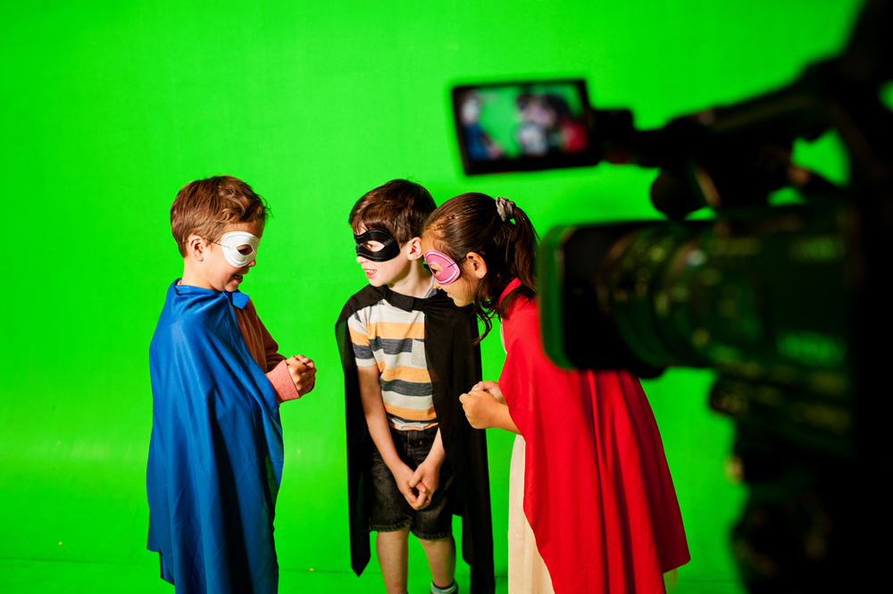 screen acting for kids